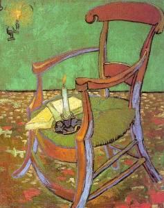 Van Gogh, la sedia di Gauguin,1888