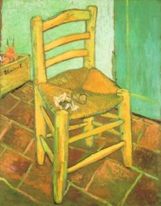 Van Gogh, la propria sedia vuota