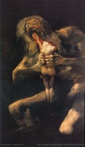 Il Saturno di Goya