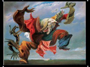 Max Ernst, L'angelo del focolare, 1937