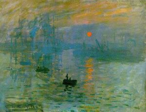 Monet,Impression, soleil levant