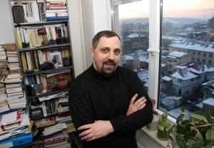 Lo scrittore Dan Lungu