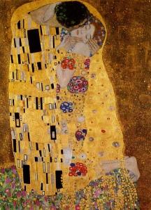 Klimt, Il bacio 1907