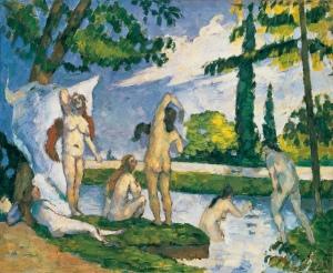 Cézanne Bagnanti
