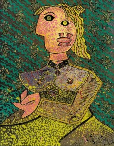Enrico Baj Omaggio a Picasso
