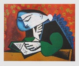 Pablo Picasso ragazza che legge