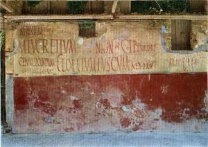 Graffiti pompeiani