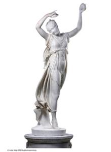 Canova, danzatrice con i cembali