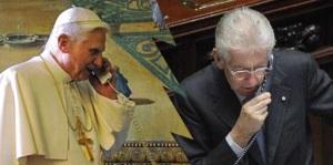 Mario Monti e Ratzinger