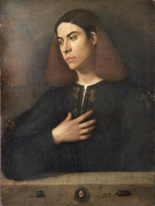 Giorgione, ritratto di giovane