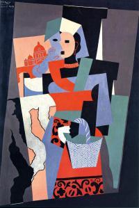 Picasso, l'Italiana, 1917