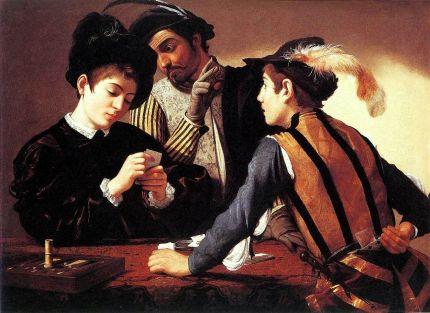 Caravaggio, I bari, 1594