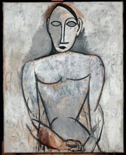 Picasso, studio per Les Demoiselles