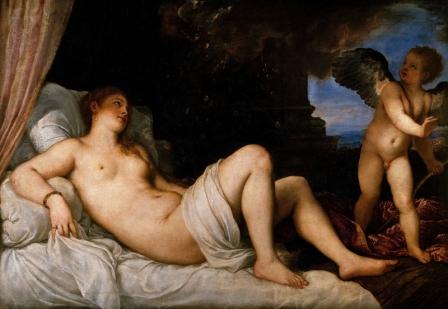 Tiziano, Danae di Capodimonte