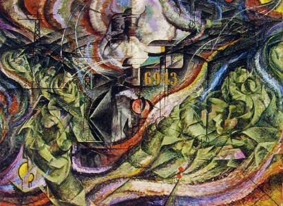 Boccioni, Stati d'animo, gli addii (1912)