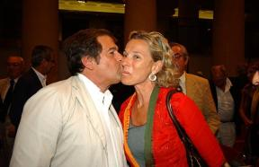 Giovanni Minoli e Giovanna Melandri