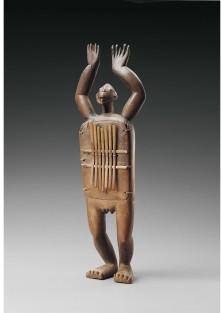 Artista Zande, Congo, Sanza antropomorfa