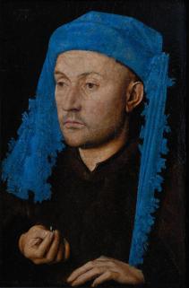 Van Eyck, L'uomo dal turbante turchese