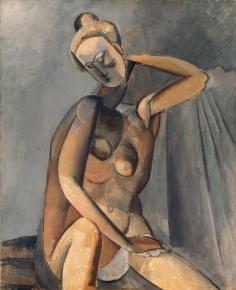 Picasso, nudo,1909