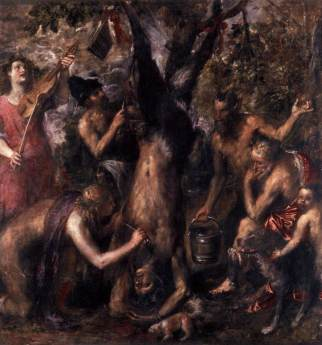 Tiziano Supplizio di Marsia