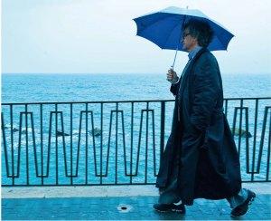 Wim Wenders in uno scatto di Donata Wenders
