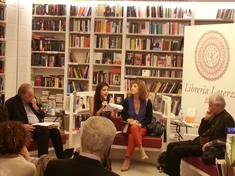 Luciano Canfora, Elisabetta Amalfitano, Simona  Maggiorelli. Ernesto Longobardi