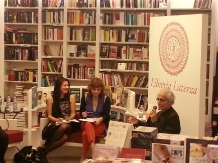 Luciano canfora, Elisabetta Amalfitano e Simona Maggiorelli