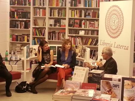 Luciano Canfora , Elisabetta Amalfitano e Simona Maggiorelli,