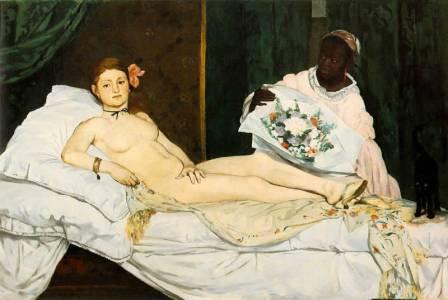 Eduard Manet Olympia (1863)
