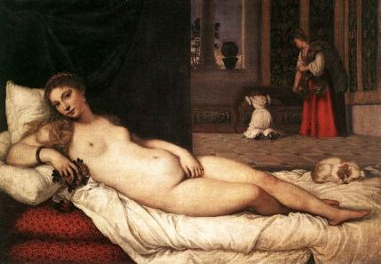 Tiziano, Venere di Urbino (1538)