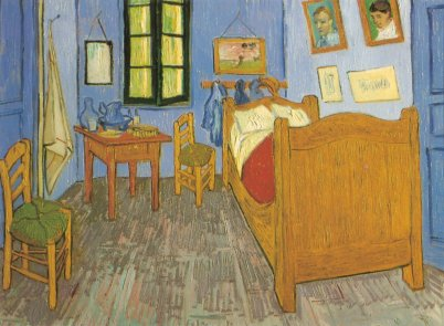 Van Gogh, Camera da letto , Chicago