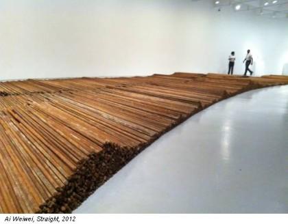 Ai Weiwei omaggio ai morti del terremoto