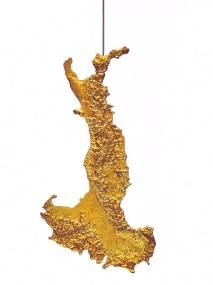 Luaciano Fabro Italia d'oro (1971)