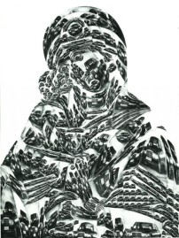 Thomas Bayrle, Madonna Mercedes
