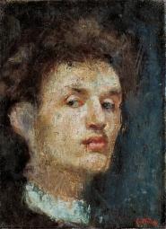 Munch, autoritratto 1886