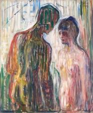 Munch, Amore e psiche,1907