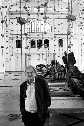 Janis Kounellis a Trieste