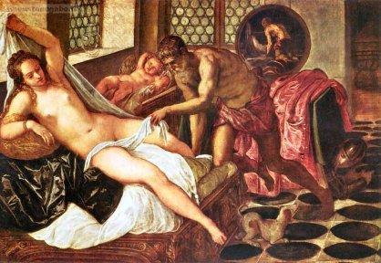 Tintoretto, Venere e Marte sorpresi da Vulcano
