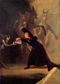 Goya, la lampada del diavolo