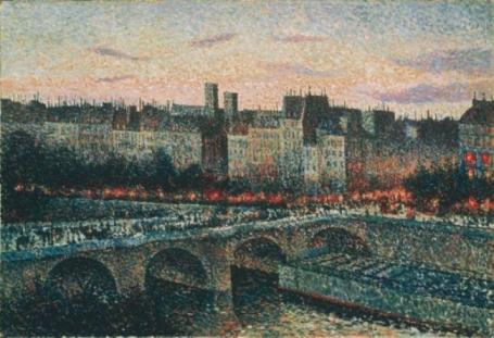 Maximilien Luce, Parigi, sera