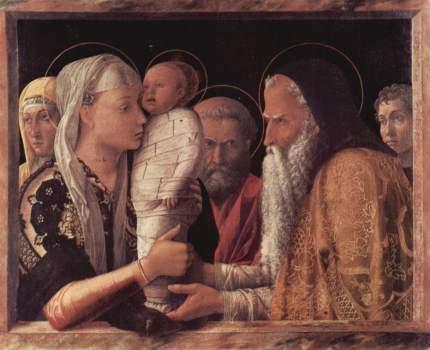 Andrea Mantegna. La presentazione al tempio