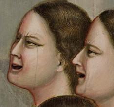 Giotto, Cappella degli Scrovegni, particolare