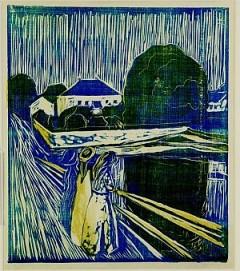 Munch, litografia