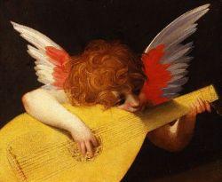 Rosso Fiorentino, angelo che suona