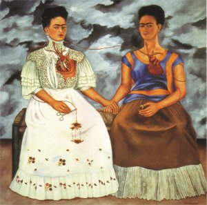Frida Kahlo The two Fridas 1939