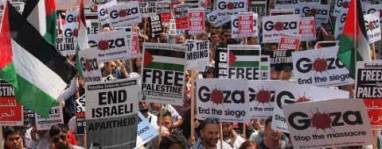 Manifestazione per Gaza