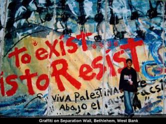 graffiti palestinesi