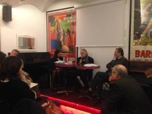 Ernesto Longobardi, Simona Maggiorelli, Andrea Ventura