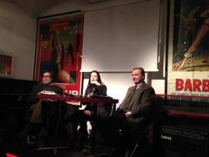 Simona Maggiorelli, Paolo Cacciari e Diego Piacentino