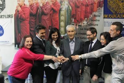 Gianni baldini, con Filomena Gallo , Rodotà e altri
